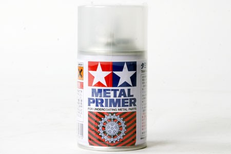 Tamiya Sprayboks Metal Primer Clear - 100ml