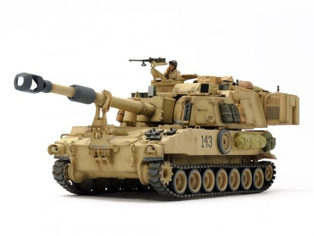 Tamiya 1/35 U.S Self-Propelled Howitzer M109A6 Paladin (Iraq War)