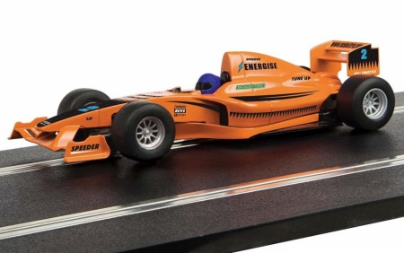 Scalextric 1/32 Start F1 Racing Car Team Full Throttle