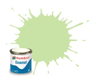 Humbrol Enamel No 36 Pastel Green - Matt 14ml