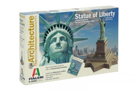 Italeri byggesett Statue of Liberty 68002