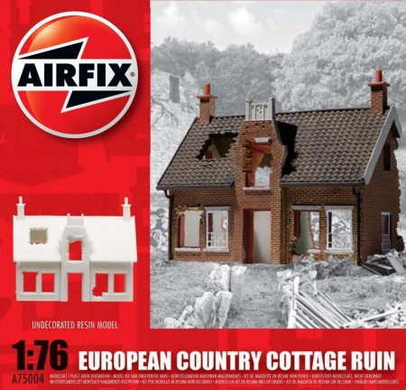 Airfix byggesett 1/76 European Country Cottage Ruin A75004