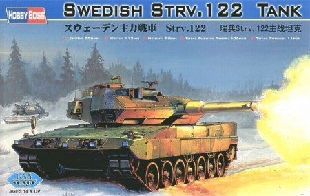 HobbyBoss 1/35 Swedish Strv.122 Tank