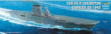 Trumpeter 1/350 USS CV-2 Lexington Carrier May 1942