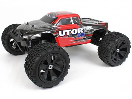 BSD Fjernstyrt bil 1/8 Utor Monstertruck Brushless/Waterproof RTR