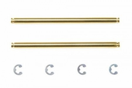 54213 Tamiya M-Chassis 3x48,5mm Titanium Coated Suspension Shafts (2stk.)