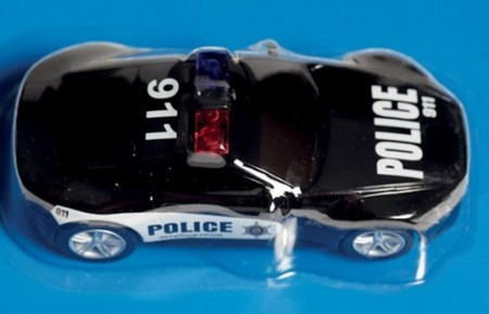 SpeedZan bil 1/43 Police Car