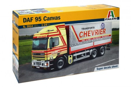 Italeri 1/24 DAF 95 Canvas