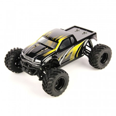 HBX 1/18 4WD Blaster Monster Truck Yellow 2.4Ghz RTR
