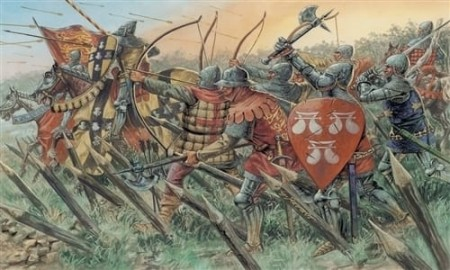 Italeri 1/72 English Knights and Archers 100 Years War