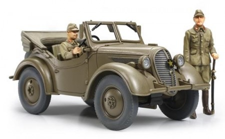 Tamiya 1/48 Japanese 4x4 Light Vehicle Type 95 Kurogane