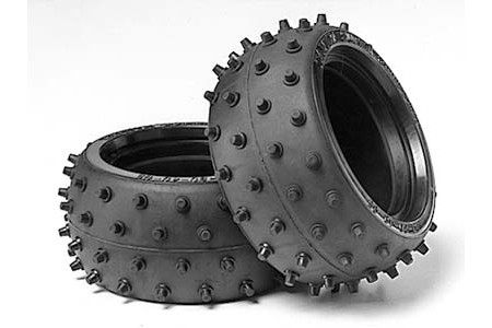 53059 Tamiya Wide Spike Tires (2stk.)