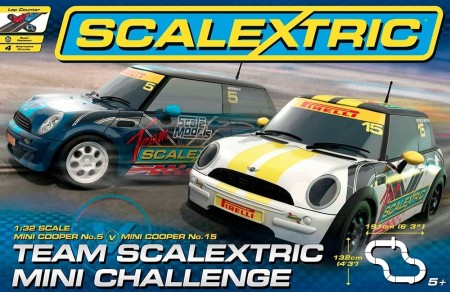 Scalextric bilbane 1:32 Team Scalextric Mini Challenge C1320