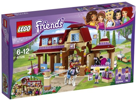 Lego Friends Heartlakes rideklubb 41126