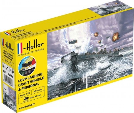 Heller 1/72 LCVP Landing Craft Vehicle and Personal