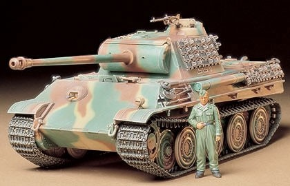 Tamiya 1/35 German Panther Type G Steel Wheel Version