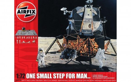 Airfix Gavesett 1/72 One Small Step For Man 50th Anniversary