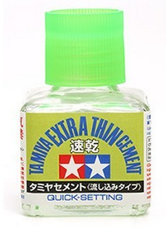 Tamiya Extra Thin Cement Quick Set 40ml