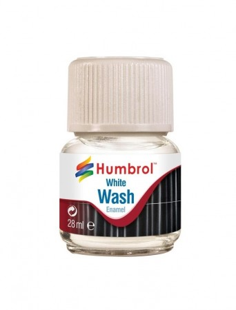 Humbrol Enamel Wash - White 28ml
