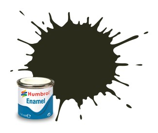 Humbrol Enamel No 53 Gunmetal - Metallic 14ml