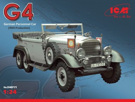 ICM 1/24 Daimler-Benz G4 (1935 Production)
