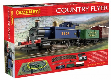 Hornby Togbanesett Country Flyer