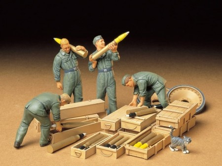 Tamiya 1/35 German Ammo-Loading Crew