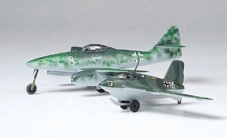 Tamiya 1/100 Messerschmitt Me262A and Me163B Komet