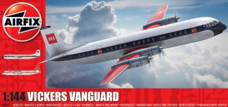 Airfix byggesett 1/144 Vickers Vanguard A03171