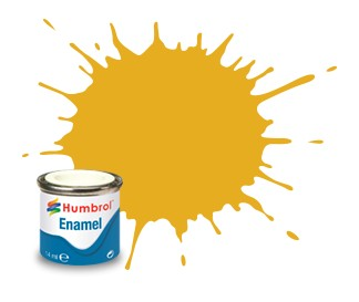 Humbrol Enamel No 16 Gold - Metallic 14ml