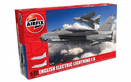 Airfix 1/72 English Electric Lightning F.6