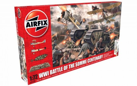 Airfix Gavesett 1/72 Battle of the Somme Centenary A50178