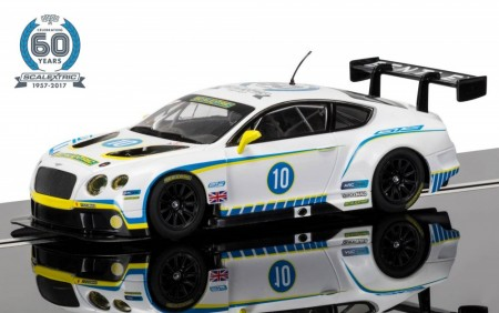 Scalextric bil 1:32 60th Anniversary Collection Car 2010s Bentley Continental GT3