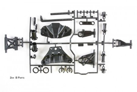 51528 Tamiya TT-02 B Parts (Suspension Arms)