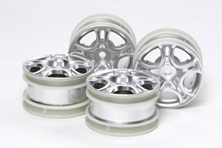 51405 Tamiya C-Shaped 10-Spoke Wheels (4stk.)