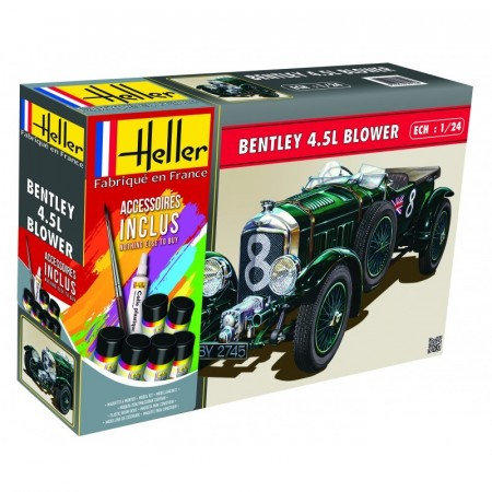 Heller Startsett 1/24 Bentley 4.5L Blower
