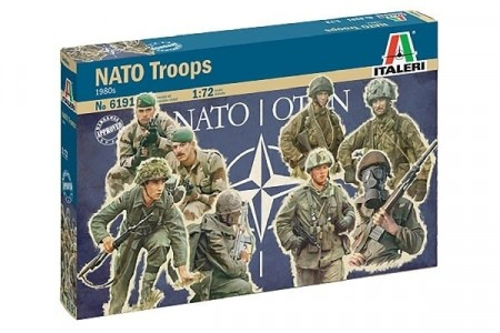 Italeri 1/72 Nato Troops 1980s