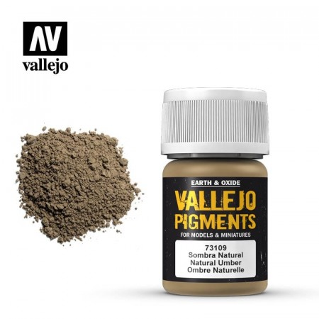 Vallejo Pigments Natural Umber 35ml