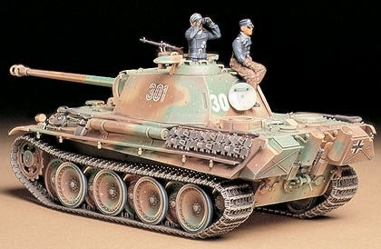 Tamiya 1/35 German Panther Type G Late Version