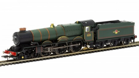 Hornby BR 4-6-0 ´King George I´ 6000 King Class DCC Fitted med TTS Sound