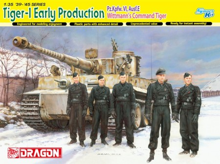 Dragon 1/35 Tiger I (Early Production) Michael Wittmann Eastern Front 1944