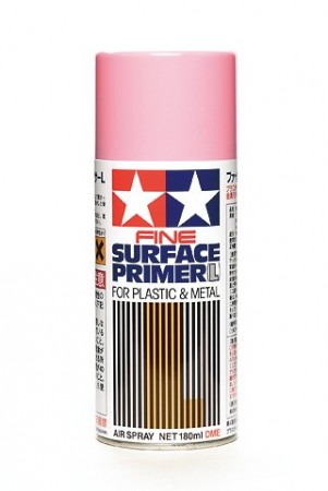 Tamiya Sprayboks Surface Primer Pink - 180ml