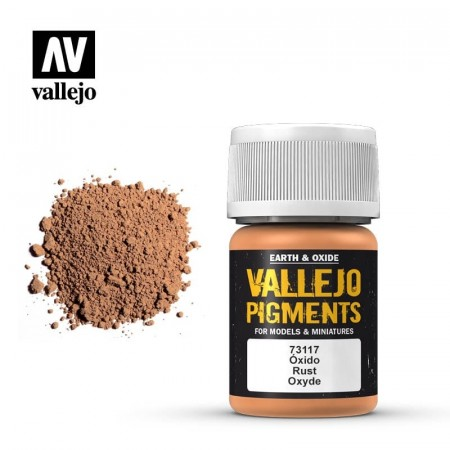 Vallejo Pigments Rust 35ml