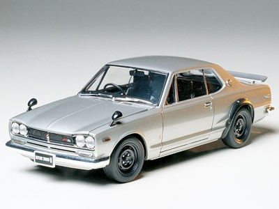 Tamiya 1/24 Nissan Skyline 2000 GT-R Hard Top