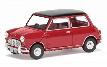 Corgi 1/43 Mini Cooper S Mk1 - Tartan Red and Black