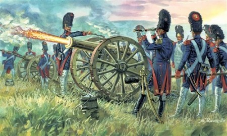 Italeri 1/72 French Imperial Guard Artillery 6135