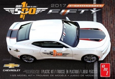 AMT 1/25 Chevy Fifty Camaro 50th Anniversary 2017 Indy 500 Pace Car