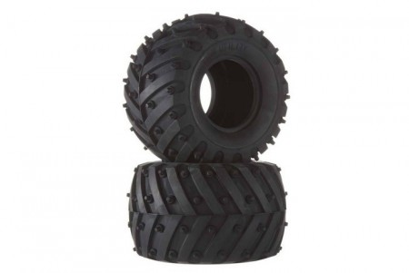 54603 Tamiya WR-02 Monster Spike Tires Soft (2stk.)