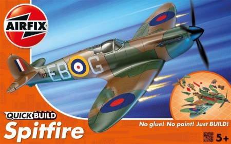 Airfix QUICK BUILD Supermarine Spitfire J6000