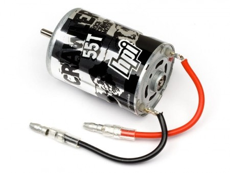 HPI Crawler Motor 55T with Capacitor and Connector